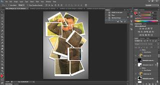 Tutorial Kolase Efek Dengan Photoshop