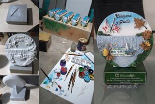pembuatan plakat resin