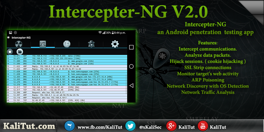 how to use network spoofer apk