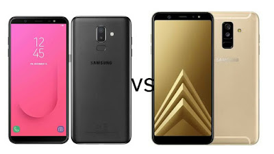 Samsung Galaxy J8 vs Samsung Galaxy A6+