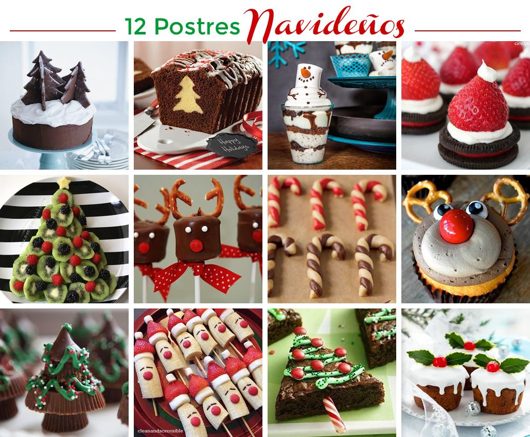 12 postres navide os m s chicos for Postres para navidad originales