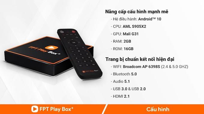 FPT PLAY BOX 2020 (FPT PLAY BOX + 2GB)