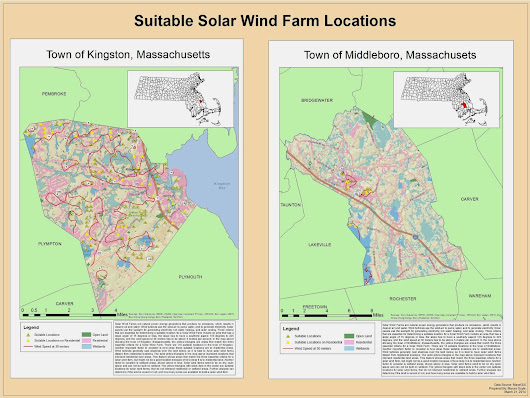 Plymouth County Solar Wind Farms