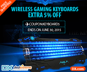 Gaming Keyboards - 5% discount and free shipping worldwide