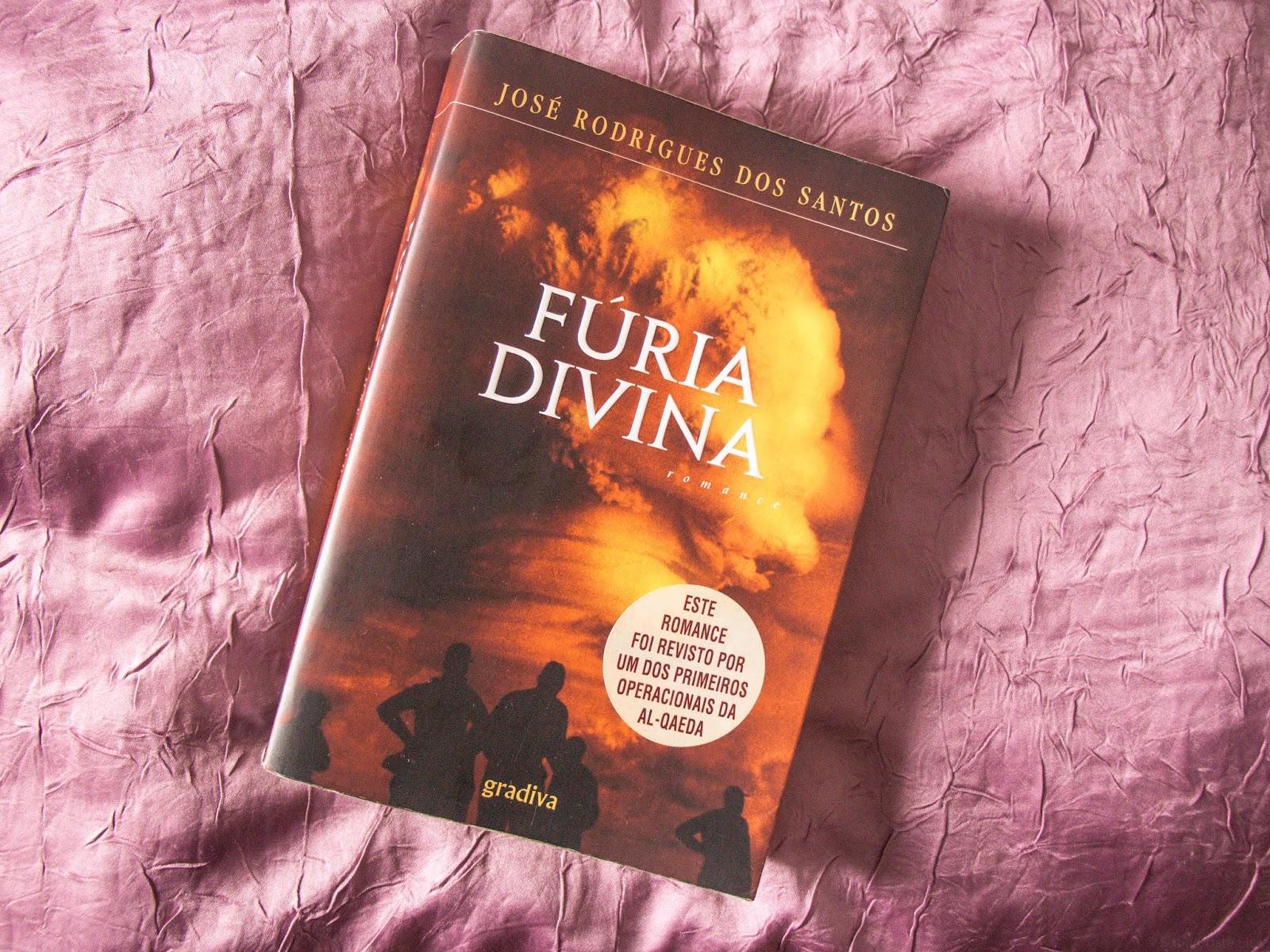 The Bibliophile Club: Fúria Divina - José Rodrigues dos Santos
