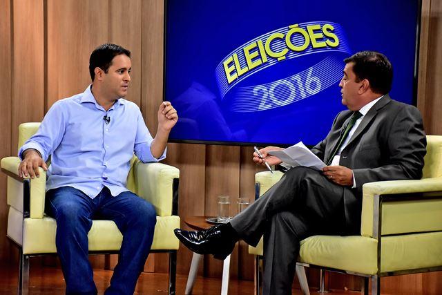 Edivaldo Holanda concede entrevista a TV Mirante