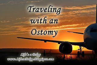 traveling with an ostomy  life's a polyp