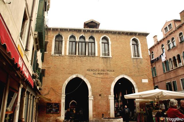 La Pescaria è il mercato ittico di Rialto a Venezia