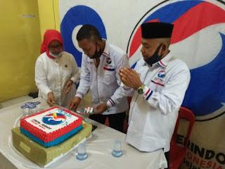 Partai Perindo Asahan HUT KE 6 Rayakan Dengan Tali Asih