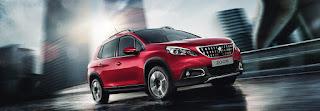 Dimensioni Peugeot 2008 SUV 2017: misure, bagagliaio e capacità serbatoio