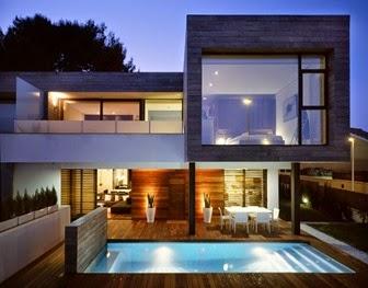 El mirador inmobiliario for Casa moderna gratis