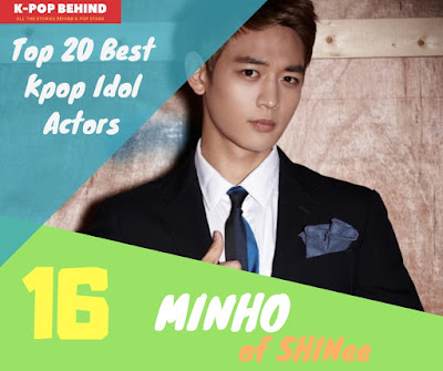 Minho of SHINee