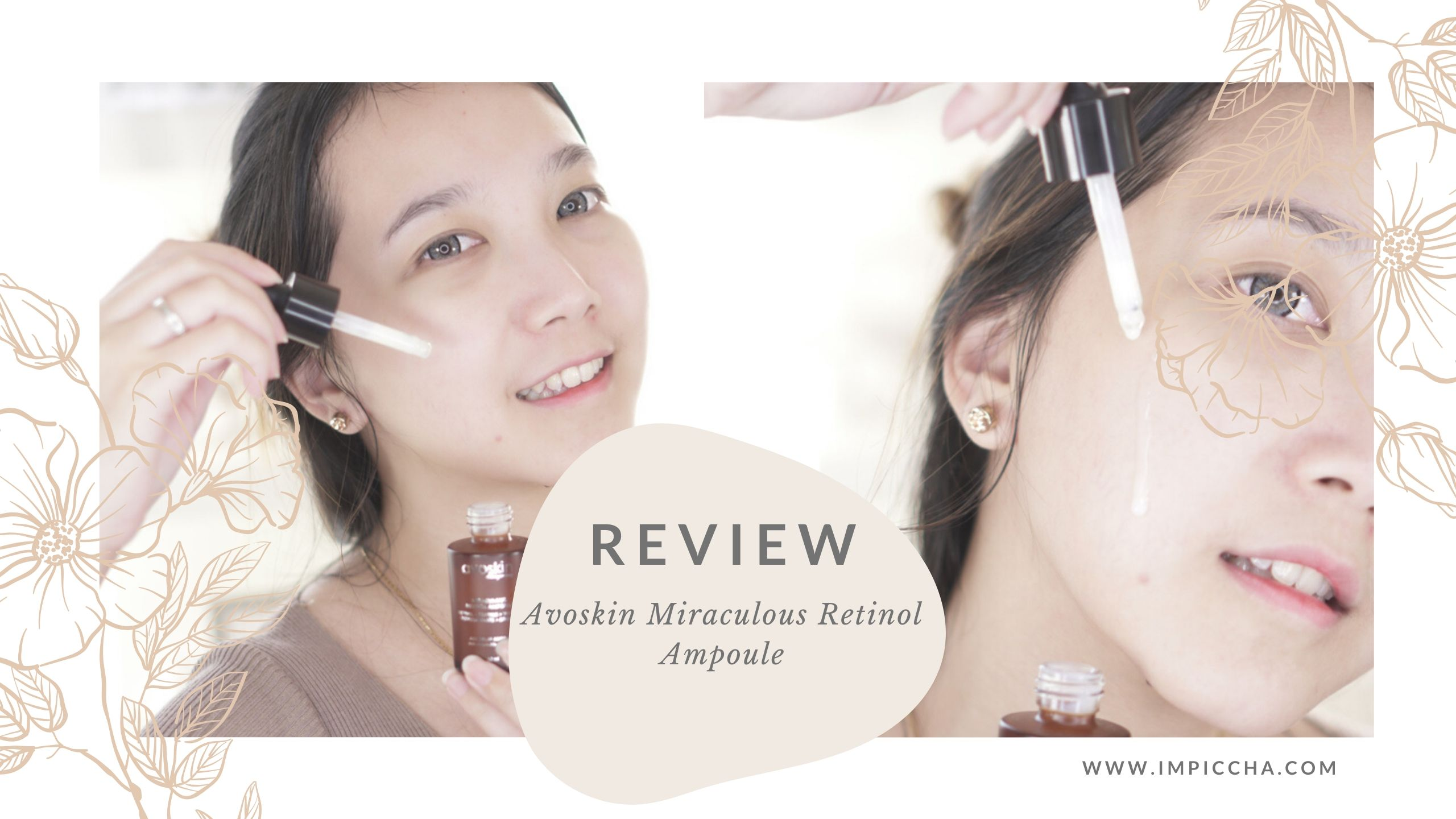 Review Avoskin Miraculous Retinol Ampoule