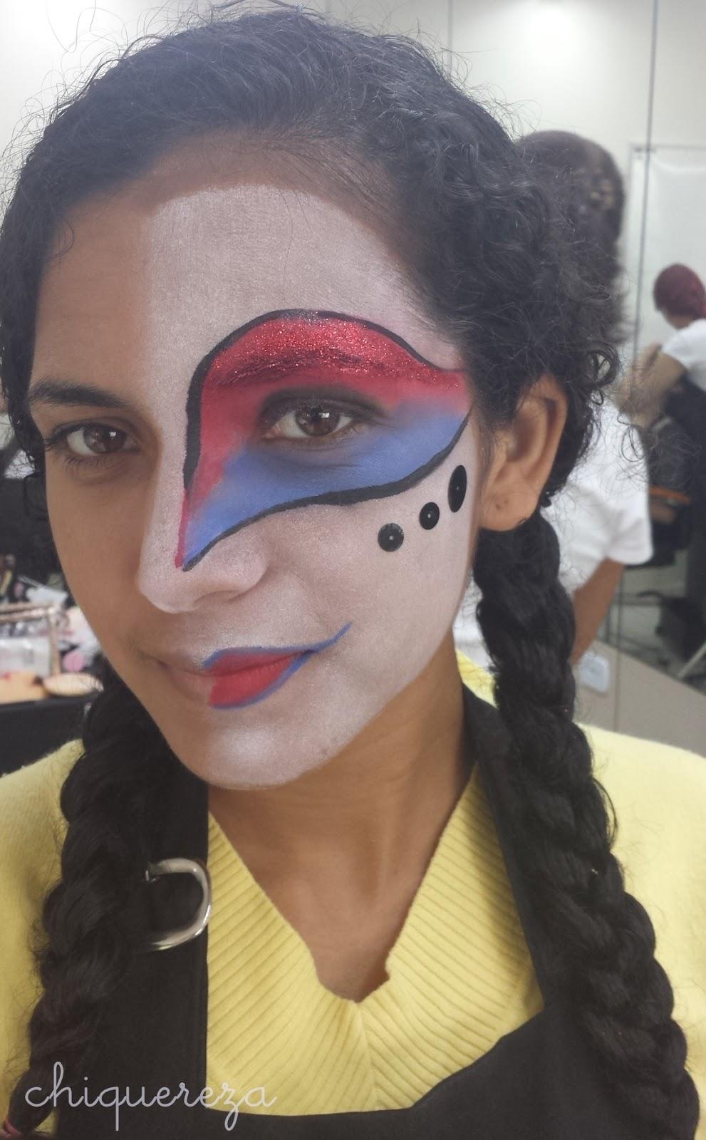maquiagem carnaval, curso senac maquiador profissional