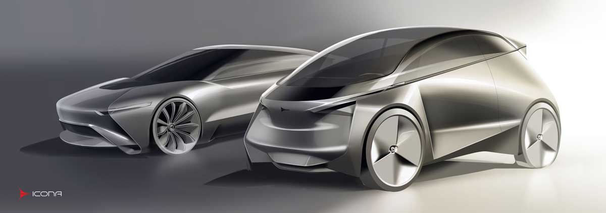 Icona Shows Off Electric City Car Concept In Paris