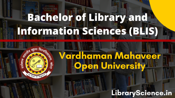 B.L.I.Sc from Vardhman Mahaveer Open University