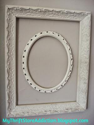 Upcycled vintage frames