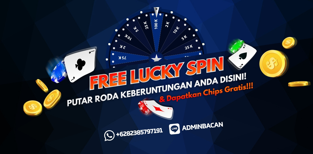 FREE LUCKY SPIN SETIAP HARI!