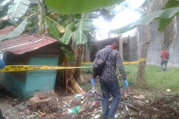 Mayat Tanpa Identitas ditemukan membusuk di Belakang Kantor Kecamatan Tayu