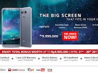 LG G6 Smartphone Tahan Air Dual Kamera Utama 13 MP Harga Rp 9.9 Jutaan (Bonus Pre Order senilai Rp 4.9 Juta)