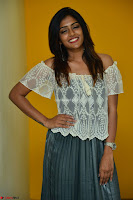 Eesha in a cute deep neck top and Skirt at at Big FM 115.JPG