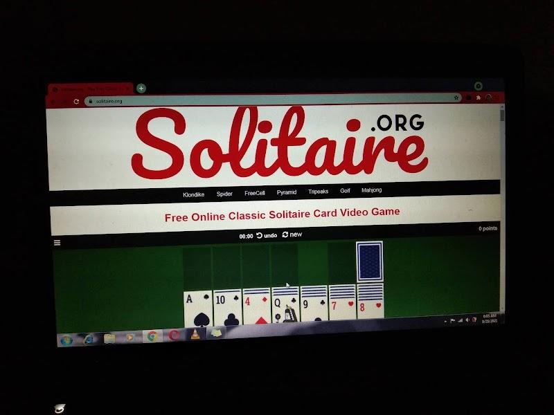 Rupanya Banyak Je Game Zaman Dahulu di Solitaire.org