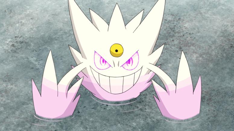 Mega Gengar Shiny Anime Pokémon