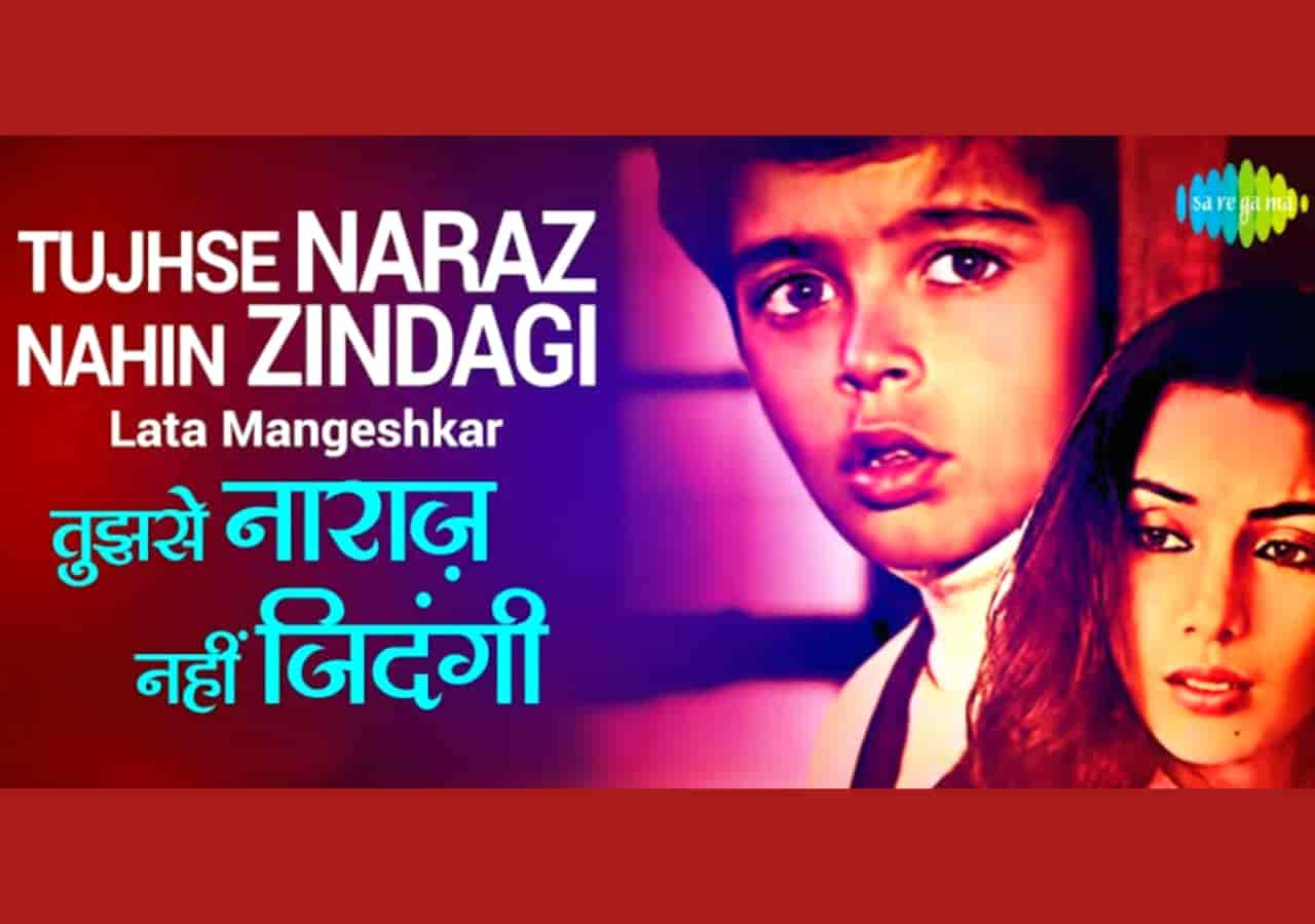 Tujhse Naraz Nahi Zindagi Hindi Sad Song Lyrics, Sung By Anup Ghoshal.
