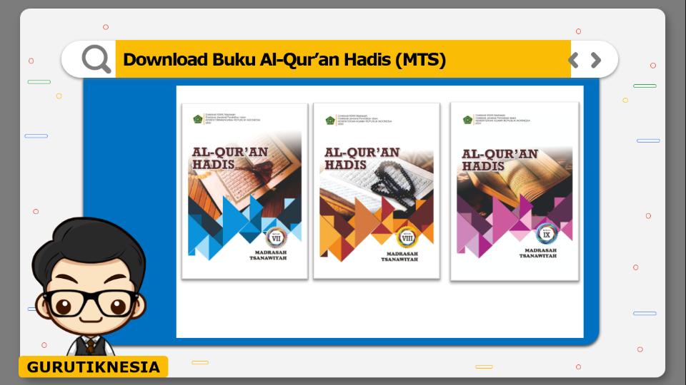 download gratis buku pdf al-qur'an hadis untuk mts
