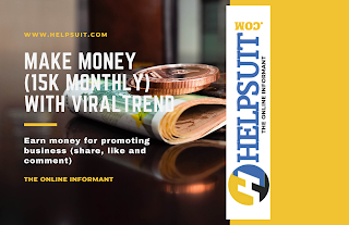 make money (15k monthly) with viraltrend