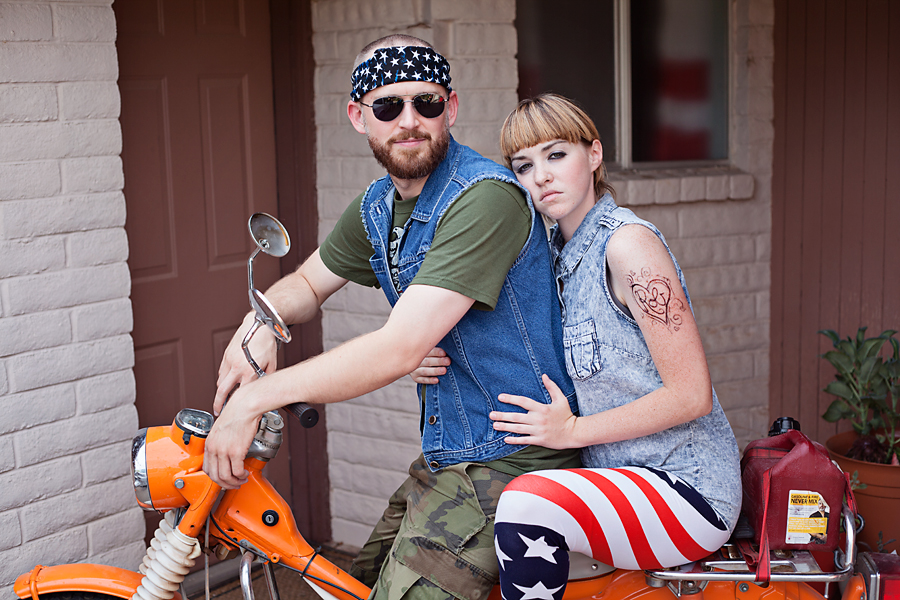 White Trash Redneck Party Backdrop