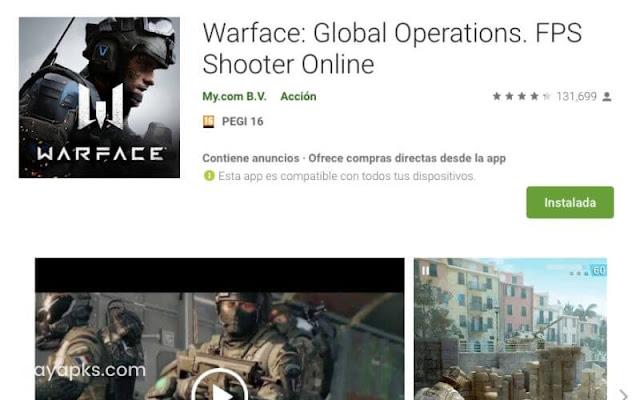 Descargar Warface: Global Operations para android