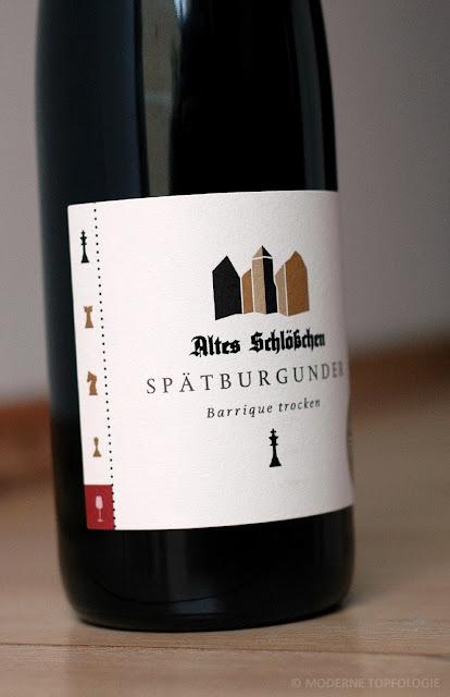 Spätburgunder König Barrique trocken Weingut Altes Schloesschen