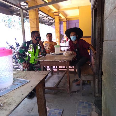 Disiplin Protokol Kesehatan Dilakukan Personel Jajaran Kodim 0207/Simalungun Diwilayah Binaan