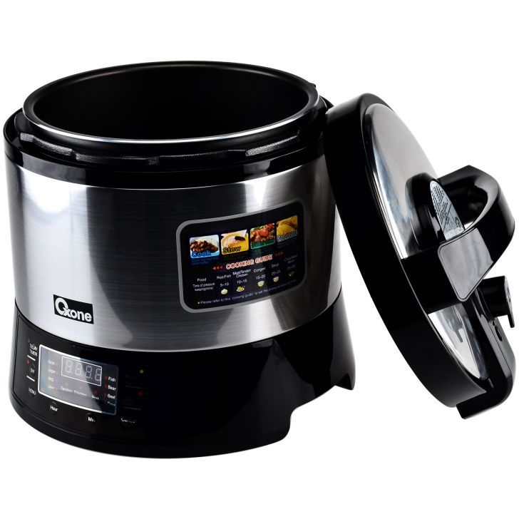 OX-282N Electric JUMBO Pressure Cooker Oxone 6Lt - 1000W