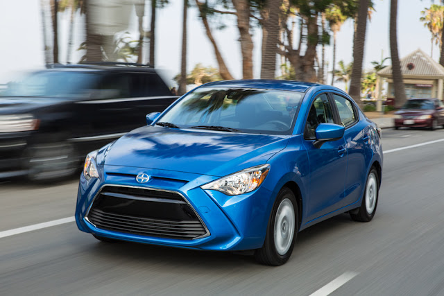 Scion iA driving
