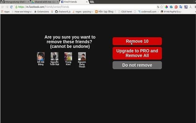 Ad On Friend Remover Pro