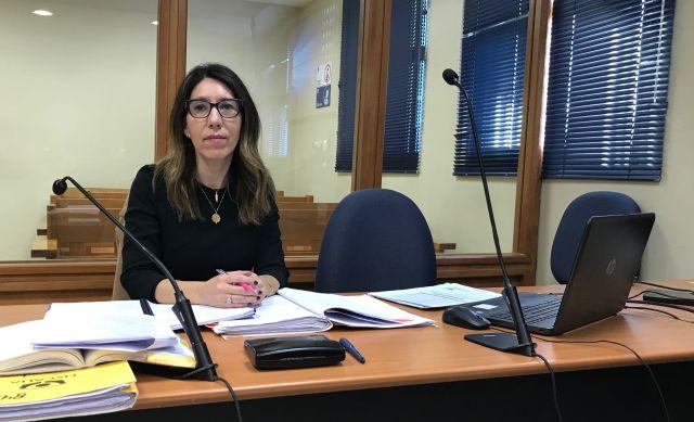 Fiscal María Consuelo Oliva