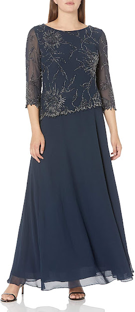 Cheap Navy Blue Mother of The Bride Dresses