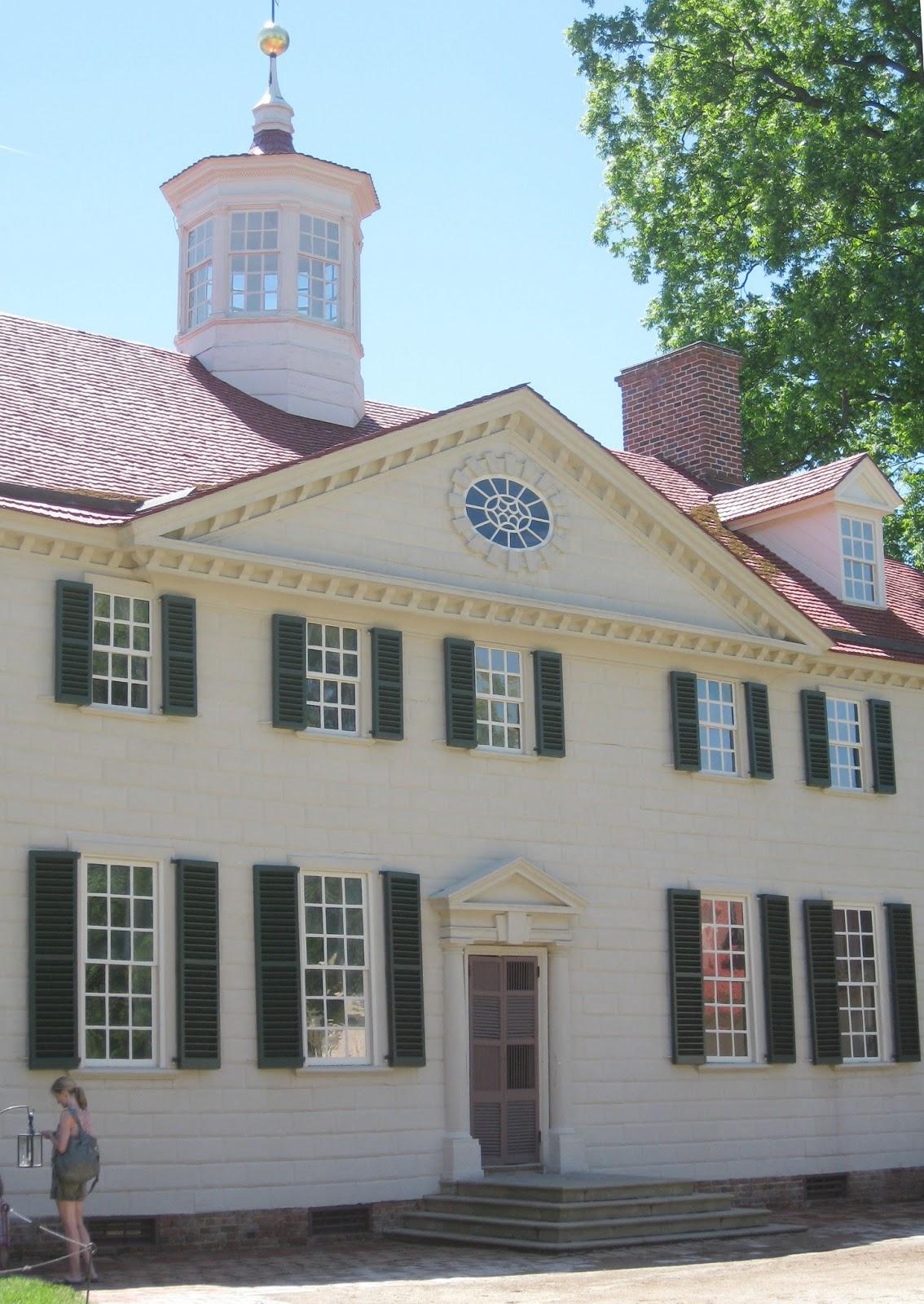 Mount Vernon home of George Washington in Virginia