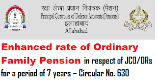 enhanced-rate-of-ordinary-family-pension-in-respect-of-jco-ors-for-a-period-of-7-years-instructions-to-review-all-post-30-05-1998-cases