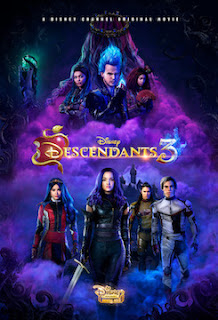 Descendants 3 (2019) Movie In Hindi Dual Audio 720p WEBRip