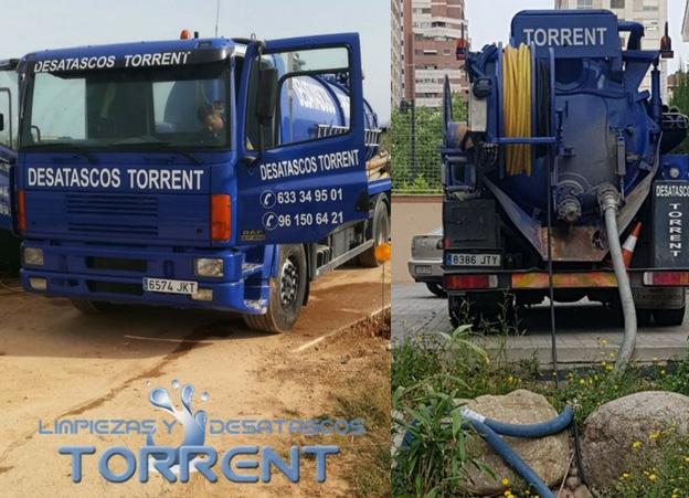 Desatascos con camión cuba en Valencia