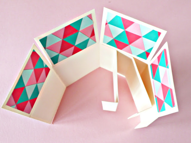 Card in a box versione tropicale-step3