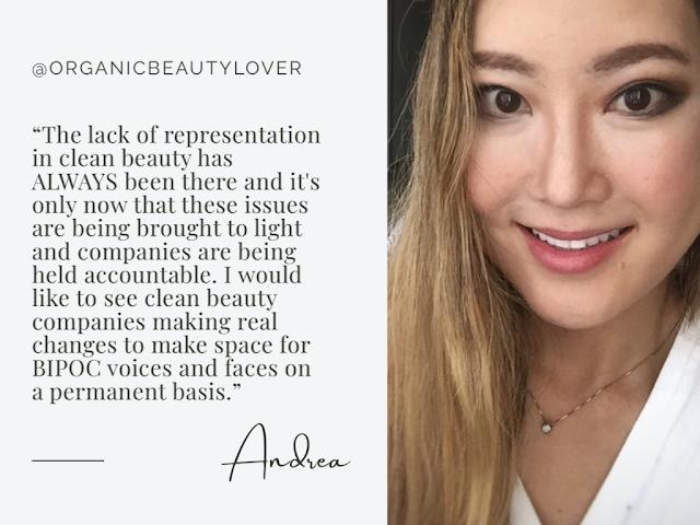 Andrea @organicbeautylover