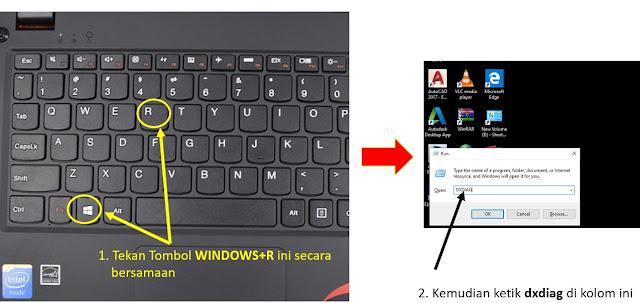 cara cek spesifikasi laptop windows 10 - step 1