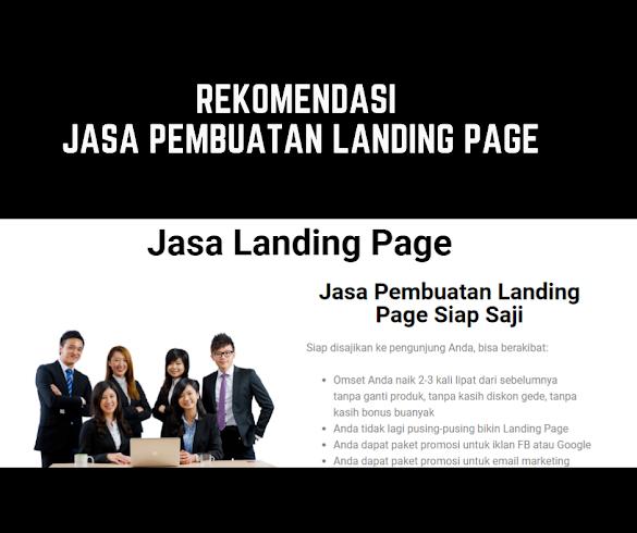 Rekomendasi Jasa Pembuatan Landing Page