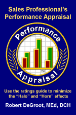 Sales Professional's Performance Appraisal book cover