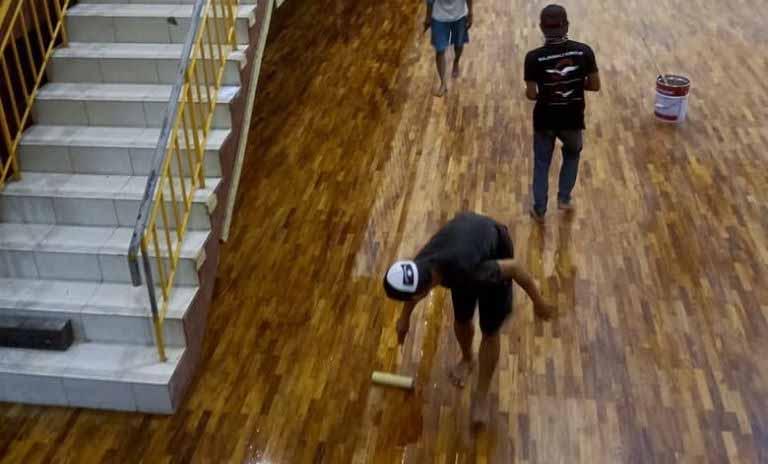 jasa pasang lantai kayu
