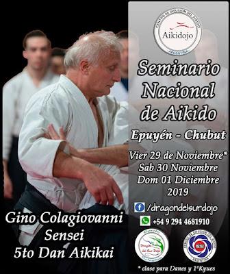 Seminario Nacional de Aikido Epuyen Chubut 2019